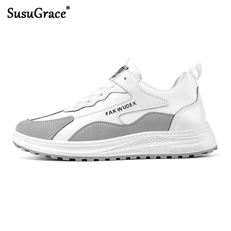 SusuGrace New 2021 Men Fashion Breathable Sneakers Running Shoes Lightweight Casual Sport Shoes Drop