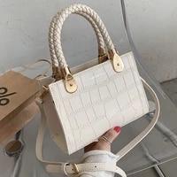 fashion texture stone pattern tote bag female bag 2021spring and summer new korean fashion trendy one shoulder messenger handbag