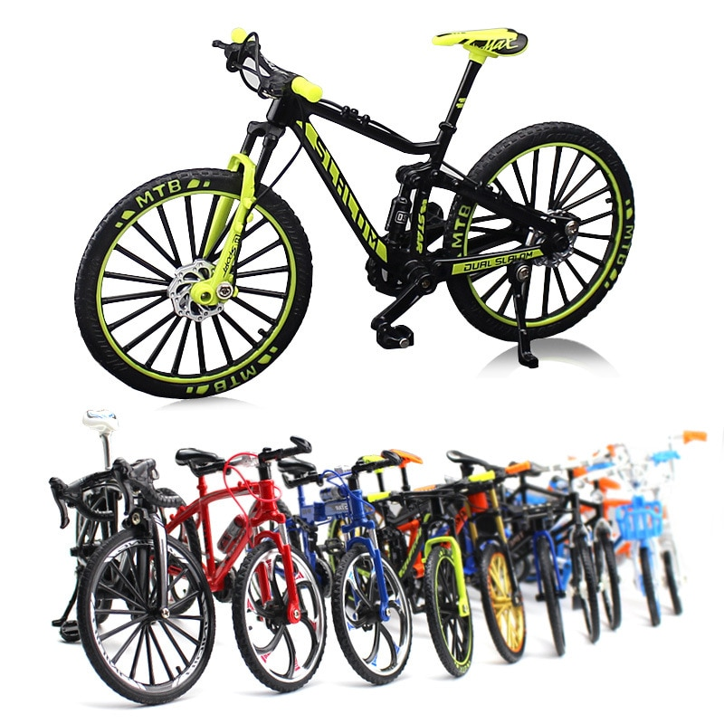 1:10 Scale Alloy Cycling Model  City Folded Cycling Road Bike Diecast Metal Bicycle Models For Kids Collection Toy Dropshipping
