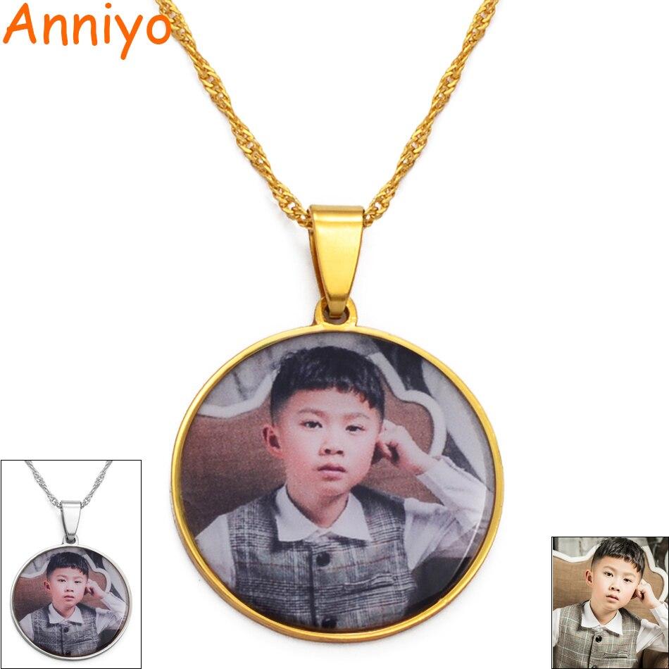 Изготовленные на заказ фото медальоны подвесные ожерелья для женщин девушек Индивидуальные фотографии ювелирные изделия на заказ Подарки ...