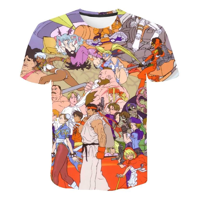 Nueva camiseta bonita con estampado 3D de Pokemon, camiseta divertida de manga corta de Anime para hombre, XXS-6XL