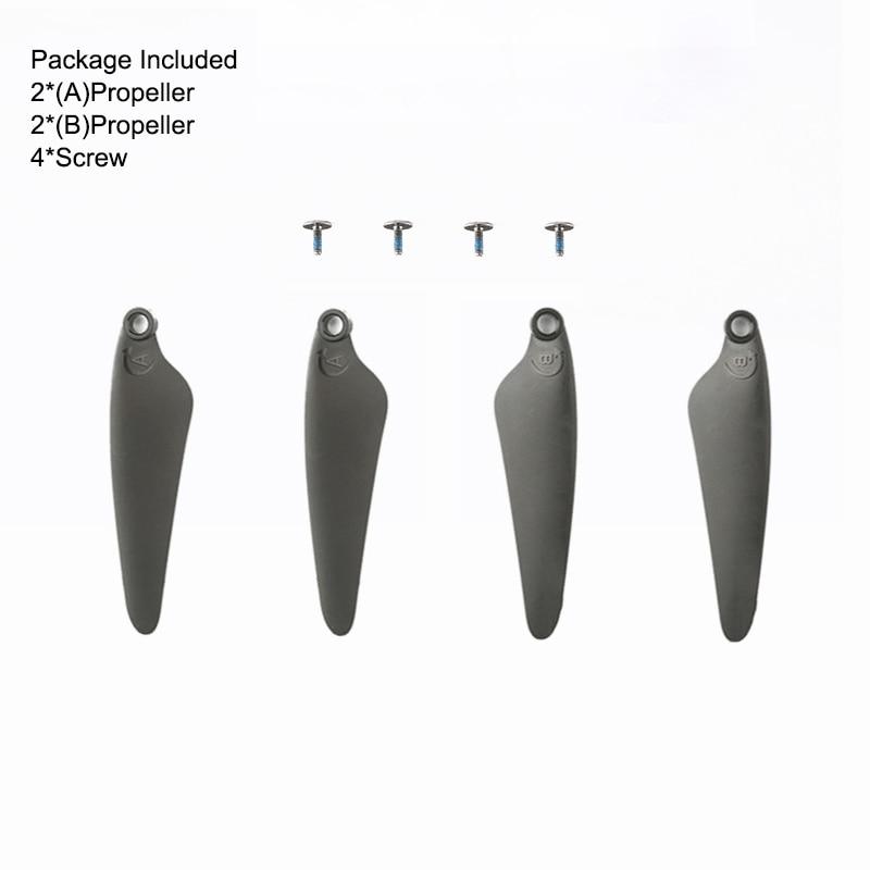 Original hubsan zino mini pro hélices adereços cw e ccw lâminas rc zangão quadcopter acessórios peças de reposição ZINOMIP-03 / -10