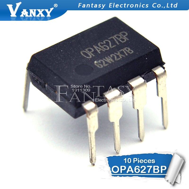 10 Uds. OPA627BP DIP8 OPA627B DIP OPA627 DIP-8 amplificadores operativos Difet de alta velocidad de precisión