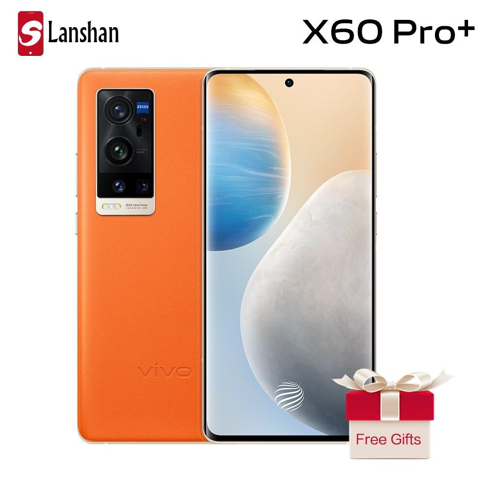 Перейти на Алиэкспресс и купить Новый двойной 5G vivo X60 pro + смартфон 5nm Процессор Snapdragon 888 120 Гц Экран частота обновления 4200 мА/ч, 55 Вт FlashCharging телефон NFC
