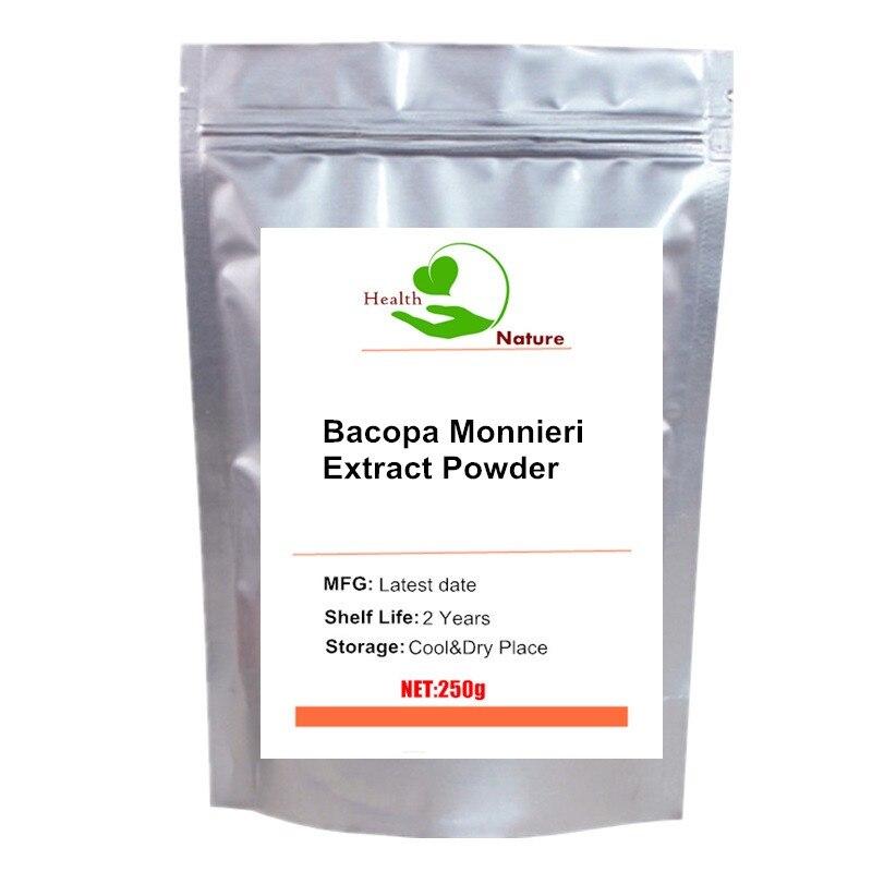 Extrato de Bacopa Monnieri (Brahmi) Em Pó 50% Bacosídeos (100% Puro)