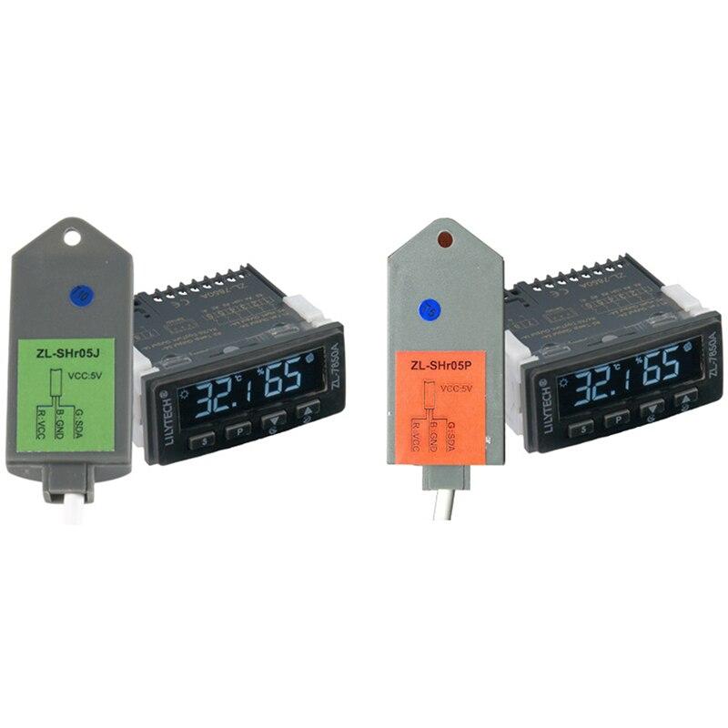LILYTECH ZL-7850A Ver 2.0 حاضنة الجبن أو السجق إيداع الرطب ساونا التحكم الرطوبة درجة الحرارة تحكم