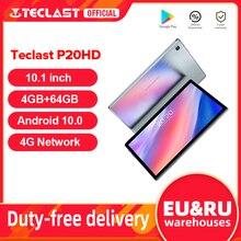 "Teclast P20HD 10.1 ""אנדרואיד 10 Tablet 1920x1200 SC9863A אוקטה Core 4GB RAM 64GB ROM 4G רשת AI מהירות-עד טבליות מחשב כפולה Wifi"