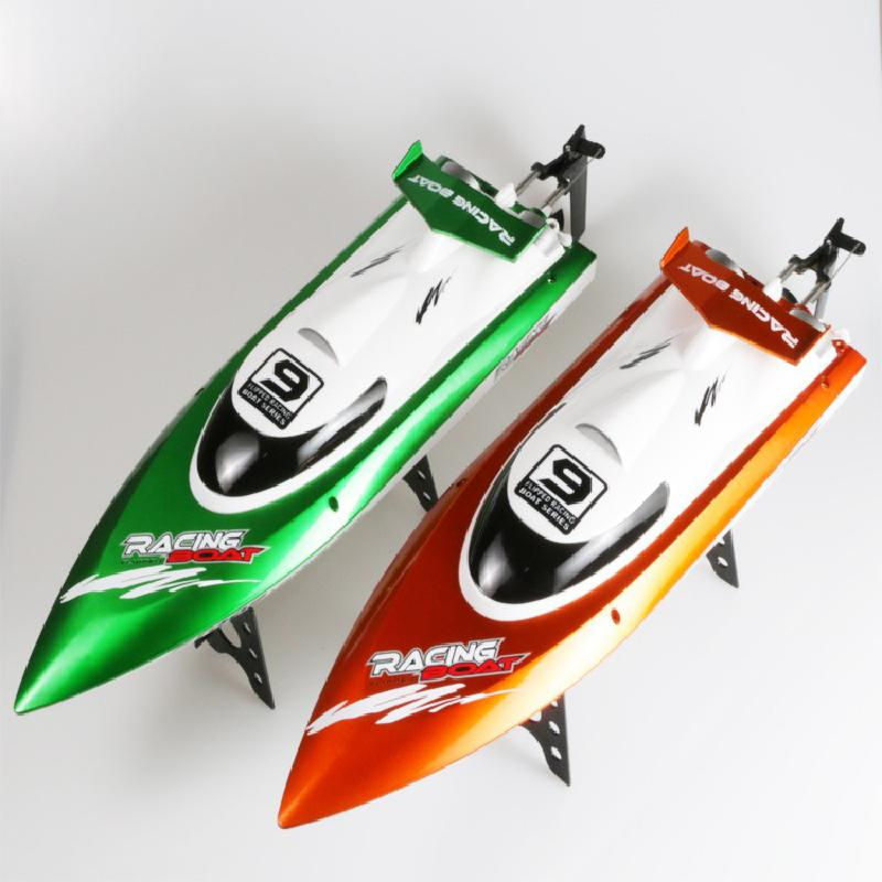 FT009 2.4G 4CH RC Boat High Speed Racing Yacht Water Cooling Remote Control Boats Anti-Crash Speedboat Toys Gifts for Kids Boy enlarge
