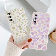 Love Liquid Silicone Soft Case For Huawei P40 P30 P20 Lite Mate 40 30 20 Pro Lite P Smart 2021 Y7A S