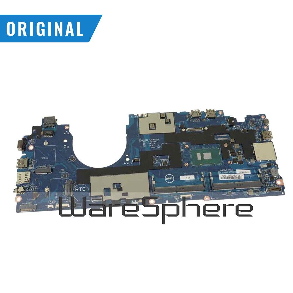 الأصلي اللوحة المحمول لديل خط العرض 5580 اللوحة إنتل i5-7300U 2.6GHz UMA 7JF3P 07JF3P LA-E091P DDR4
