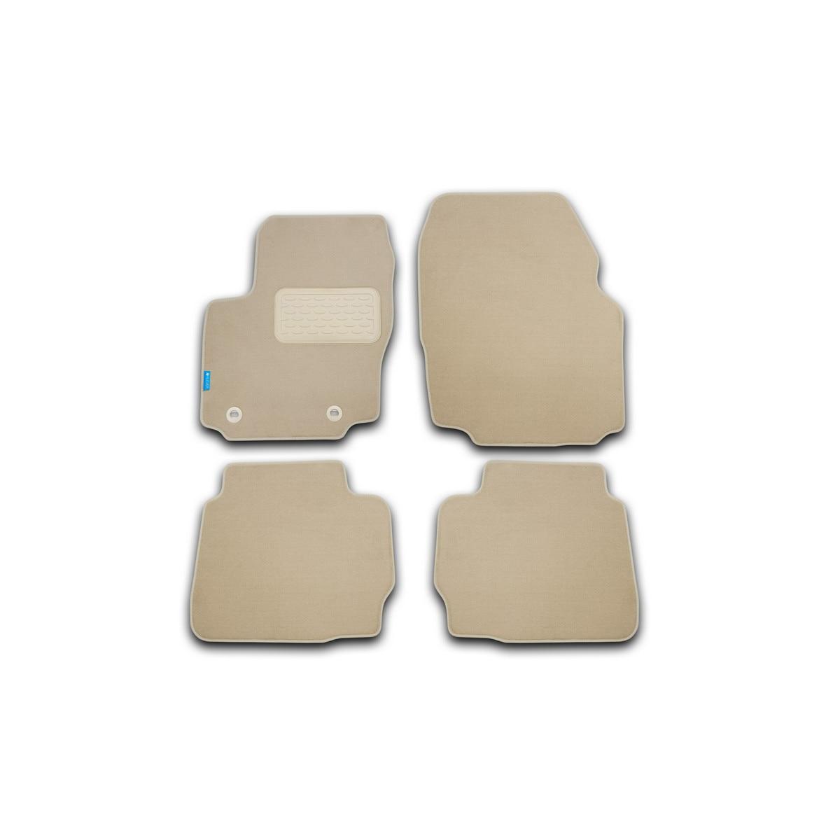 Floor mats for Kia opirus automatic 2003-2010, ETS. PC, beige