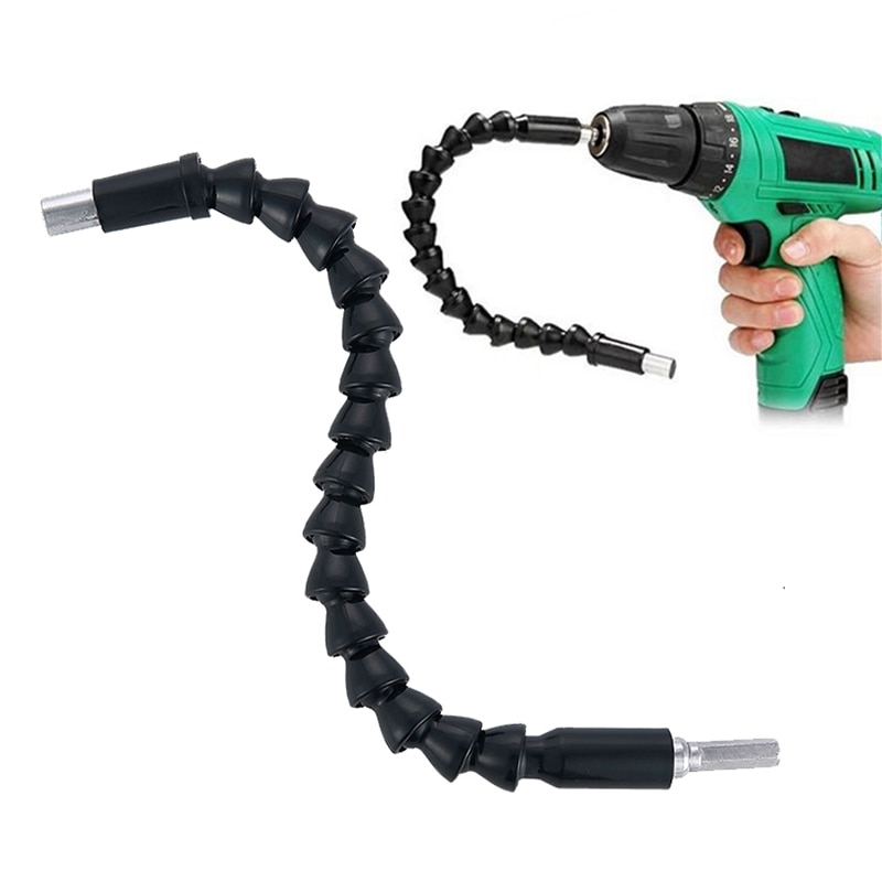 295mm Extension Bit Flexible Hex Shaft Drill Bits Holder with Connect Drive Shaft Electric Drill Power Tool Accessories