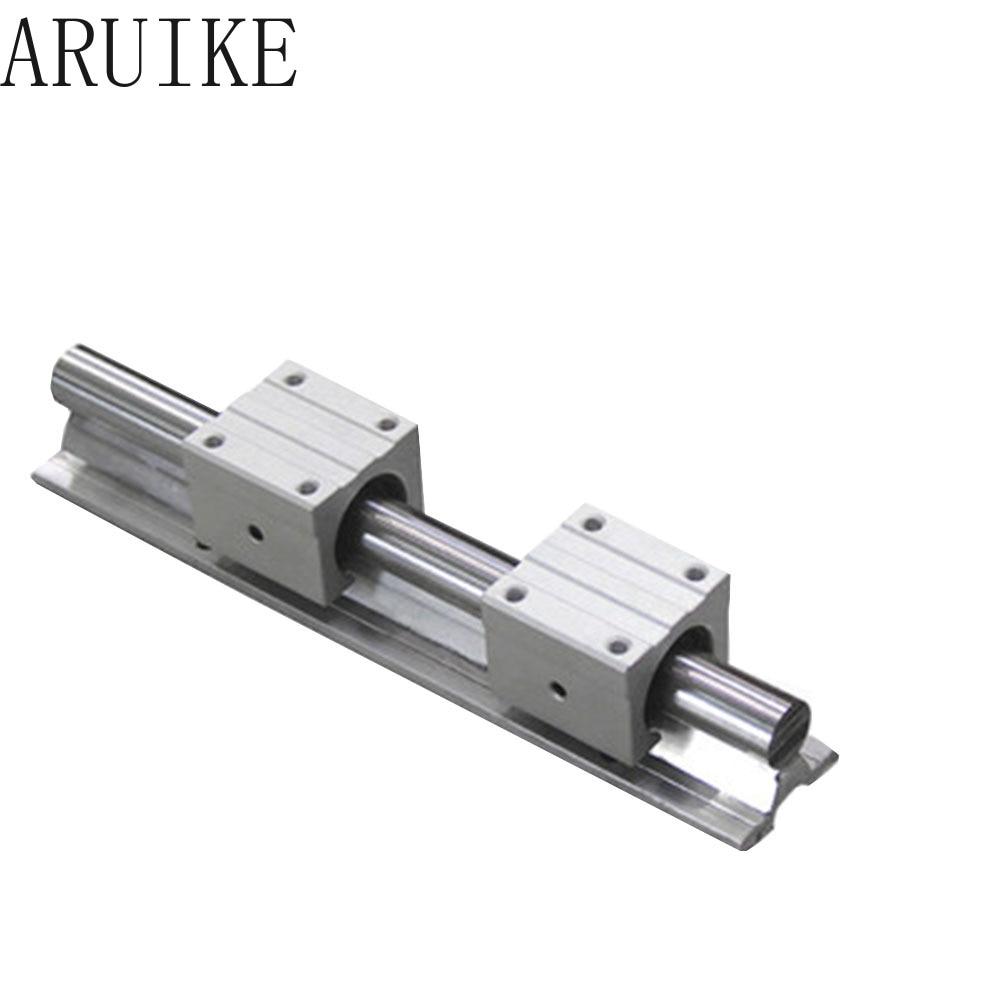 SBR12 12mm linear rail L700mm length 700mm SBR12-L-700mm  guide with 2pcs SBR12UU Set cnc router 3D print part
