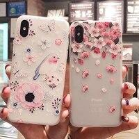 floral case for xiaomi redmi note 9 pro case silicon on xiomi redmi note 8 pro 9s 8t mi 10 lite 9t a3 7 k30 k20 poco f2 m2 cover