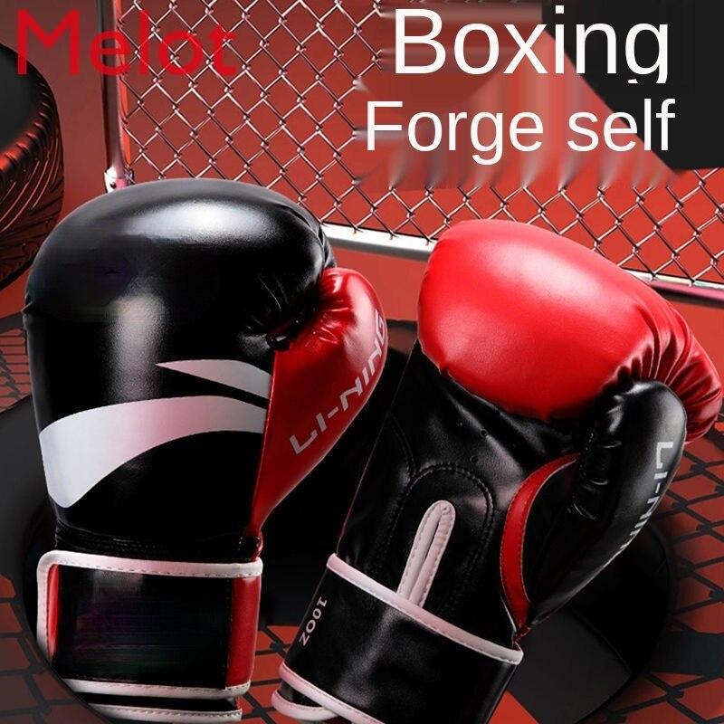 الملاكمة قفاز الذكور قفازات ملاكمة المهنية الكبار Sanda قفازات التدريب الحرة القتال الملاكمة التايلاندية القتال الإناث