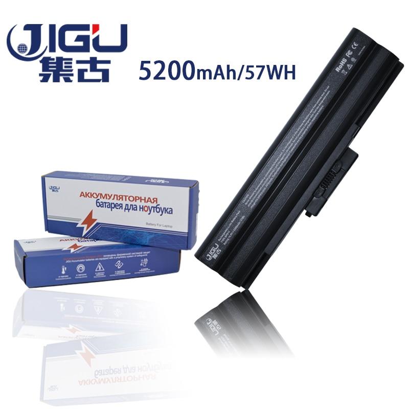 JIGU عالية الخطط لقيعان البحار أسود 6 خلايا ويت CD بطارية كمبيوتر محمول لسوني VGP-BPS13B VGP-BPS21A VGP-BPS13/B VGP-BPS13A/Q VGP-BPS13B/B