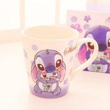 Disney Stitch Mermaid Ariel Princess  the toy story Rapunzel Water Milk Coffee Juice Mug Cup Ceramic Cup Collection
