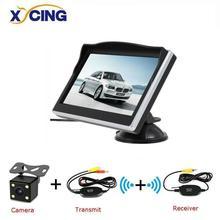 XYCING 5 дюймовый TFT LCD 800*480 HD экран автомобильный монитор с резиновым держателем для вакуумной чашки цветная фотокамера заднего вида