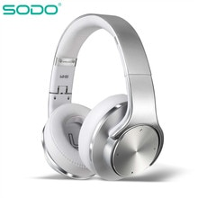 Bluetooth Kopfhörer Lautsprecher 2 in 1 SODO Faltbare NFC HiFi Stereo Drahtlose Über Ohr Kopfhörer V5.0 mit Mic Unterstützung TF karte FM