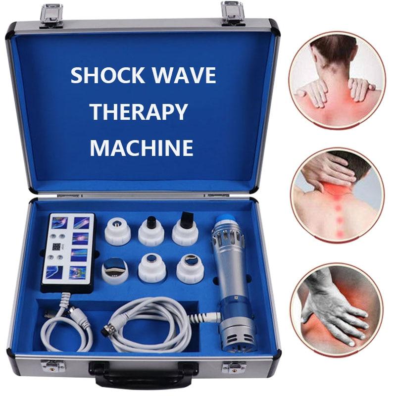 Qualidade superior vibrador ed eletromagnética extracorpórea máquina de ondas de choque alívio da dor massageador relaxamento muscular profundo