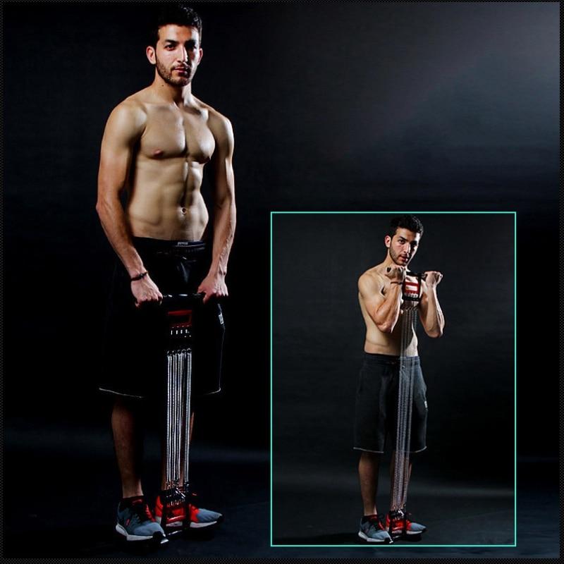 Braço de Peito Equipamentos de Fitness Dispositivo de Emagrecimento Aperto de Mão Expansão Multifuncional Sit-up Abdominal Puxar Haste Esportes