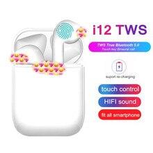 I7s/i9s/i11/i12 TWS Drahtlose Kopfhörer Ohrhörer Bluetooth Headsets Ohrhörer Wahre Wireless Stereo Kopfhörer Für IOS android Telefon