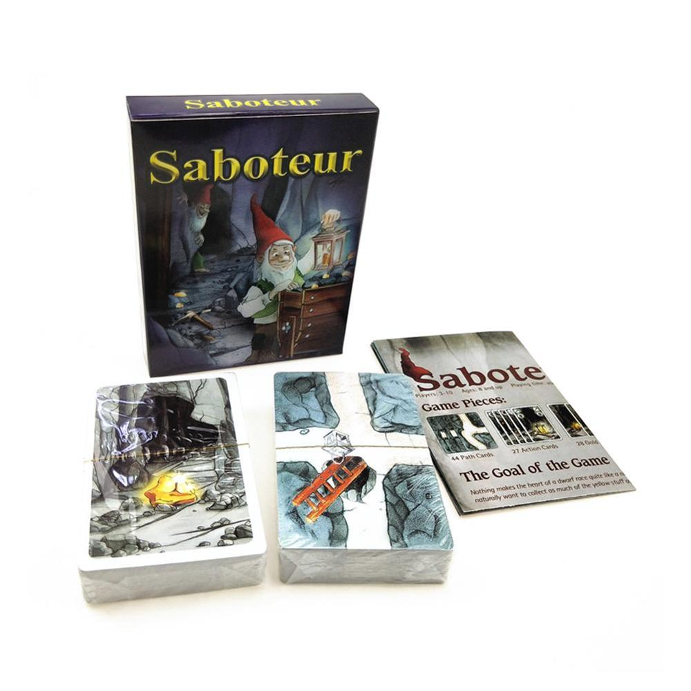 2020 juego de cartas de sabotaje misterioso Tarot edición inglesa mágica juego de mesa suministros de fiesta para niños adultos