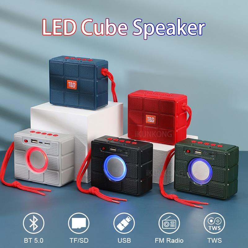 LED Mini Bluetooth Altavoz Subwoofer Bluetooth Parlante Altavoz Boombox Altavoces mp3 jugador...