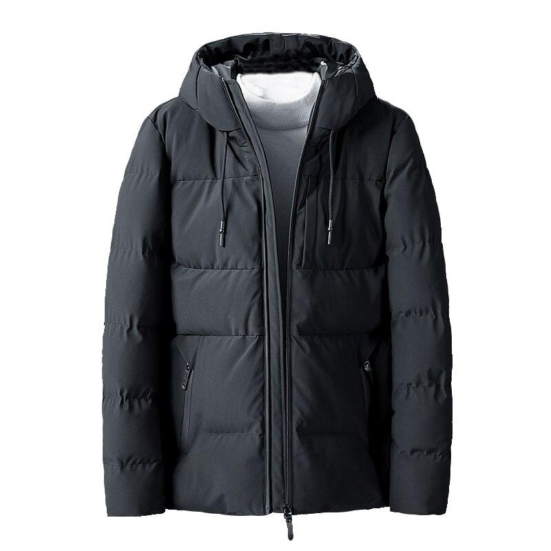Зимние мужские куртки, утепленные теплые мужские парки, пальто с капюшоном, флисовые мужские куртки, верхняя одежда