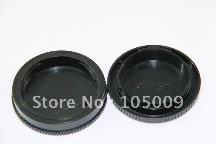 Frente tapa de lente trasera/cubierta + Cuerpo de Cámara tapa para ALPHA...
