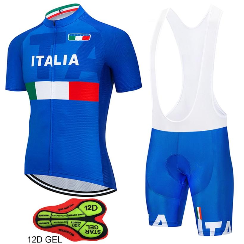 Tour de ITALIA-Maillot De Ciclismo de GEL 12D, Ropa para Ciclismo, ITALIA,...