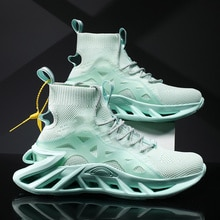Main Import Commodities: Sports Shoes Breathable Net Men's Fashion Sports Shoes Fluorescent Shoes Hi