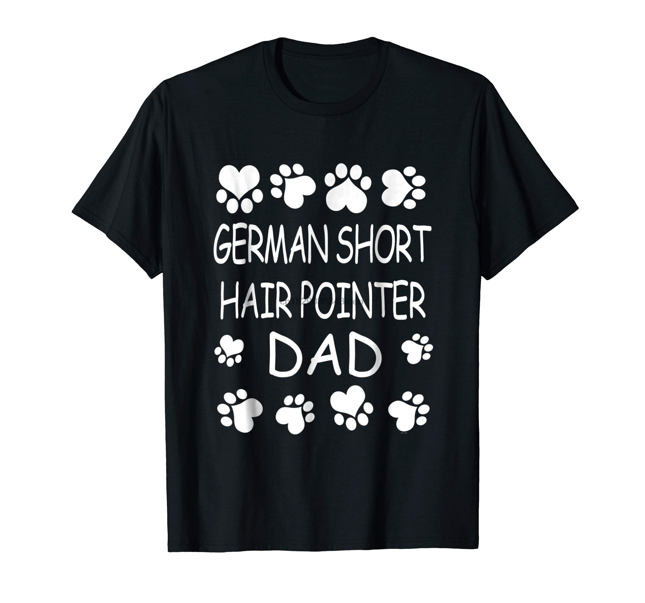 German Short Hair Pointer Dad lover Christmas gift tee shirt-Men's T-Shirt-Black