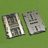 sim card socket reader holder connector for huawei p20 lite nova 3e ane al10 3i 6x bln tl10 6a dli al10 bnd al00 repair parts
