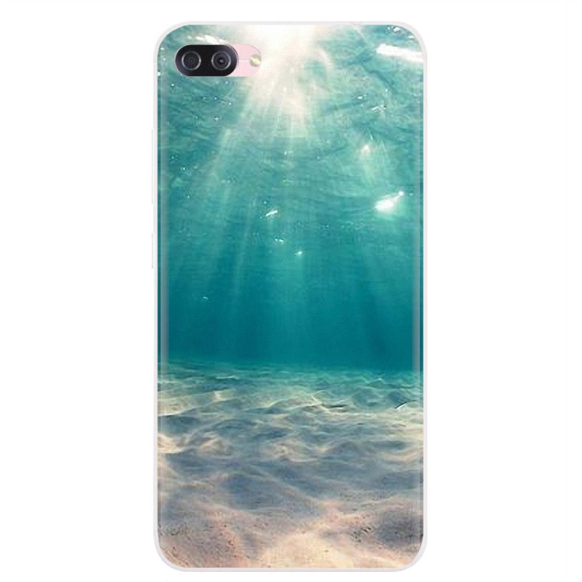 Capa de silicone para iphone 11 pro 4 4S 5 5S se 5c 6s 7 8 x xr xs plus max para ipod touch verão praia sol estrela do mar surf meninas