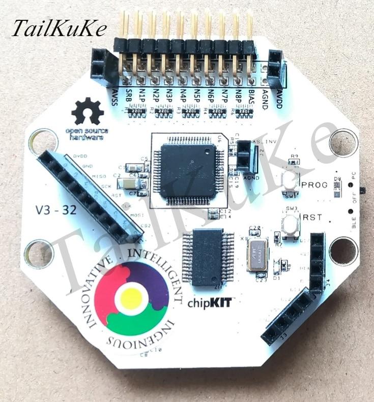 OpenBCI V3 متوافق مفتوح المصدر اردوينو EEG الدماغ وحدة كهربائية-8/16 قناة-واي فاي/بلوتوث الإصدار