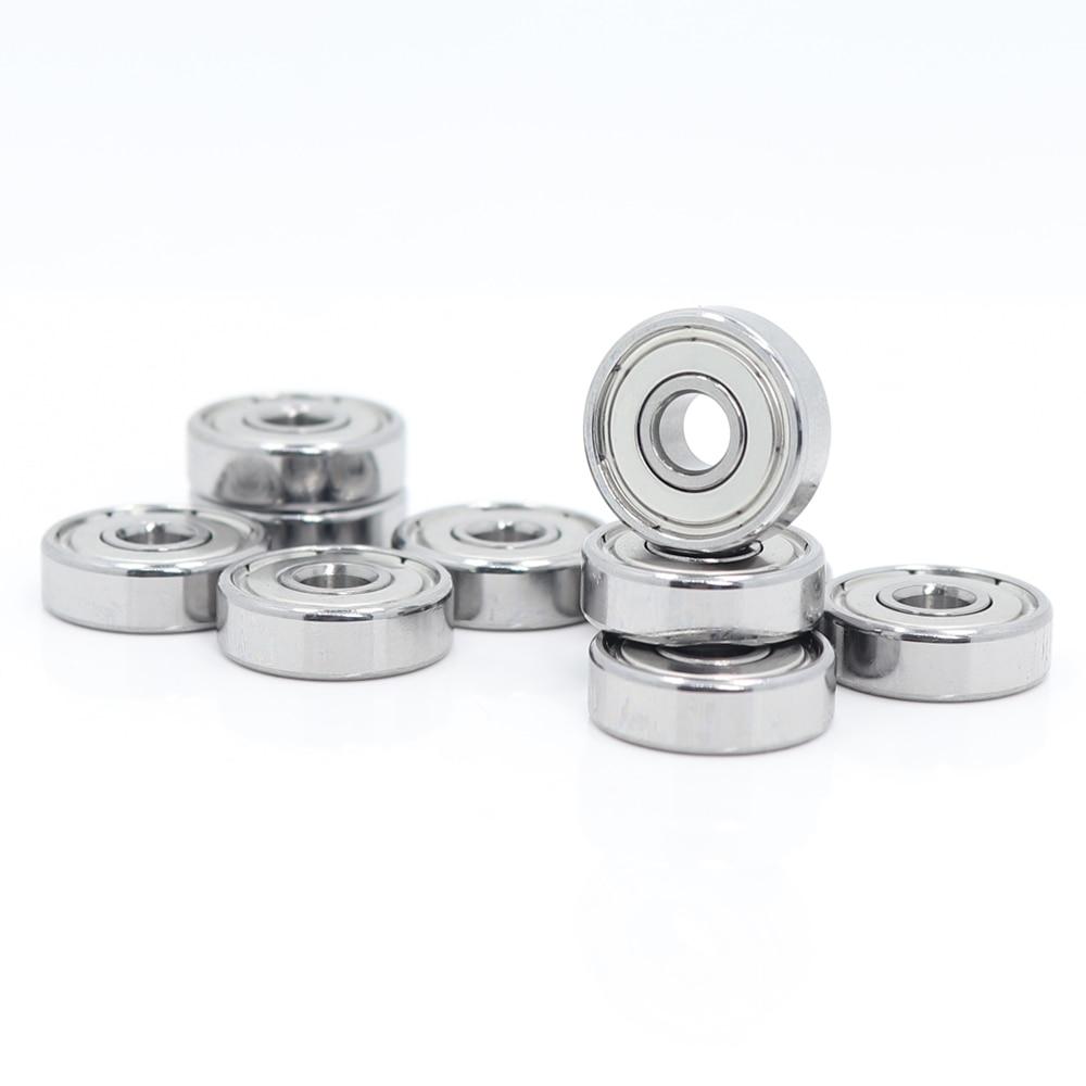 Rodamiento 625ZZ 5*16*5mm ABEC-5 ( 10 uds) rodamientos de bolas en miniatura 625Z 625 ZZ para impresora VORON Mobius 2/3 3D Makefr Rs CNC32