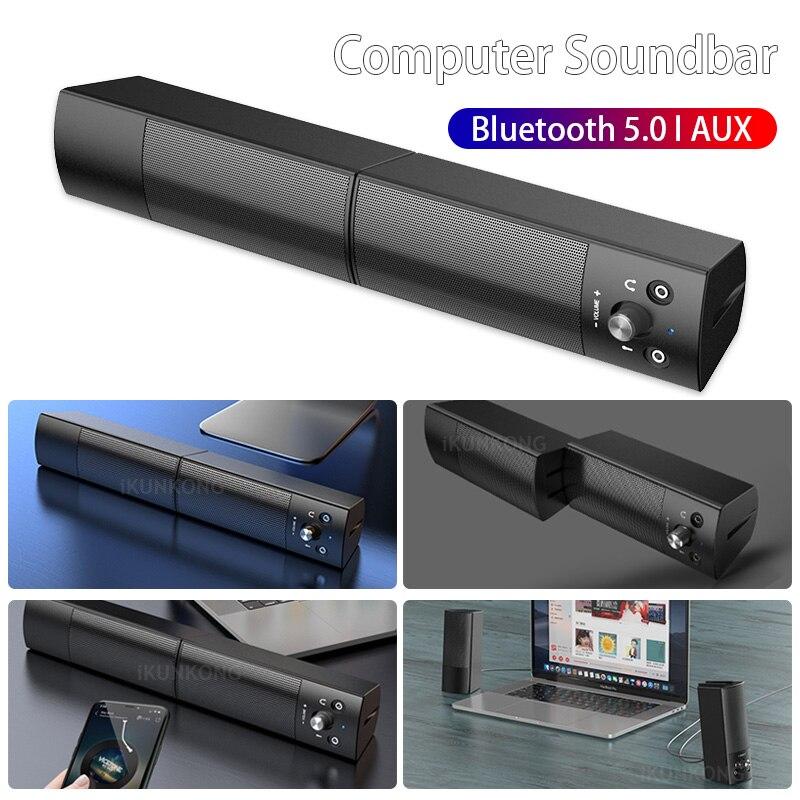 Altavoz bluetooth con caja de sonido, juego inalámbrico, barra de sonido estéreo...