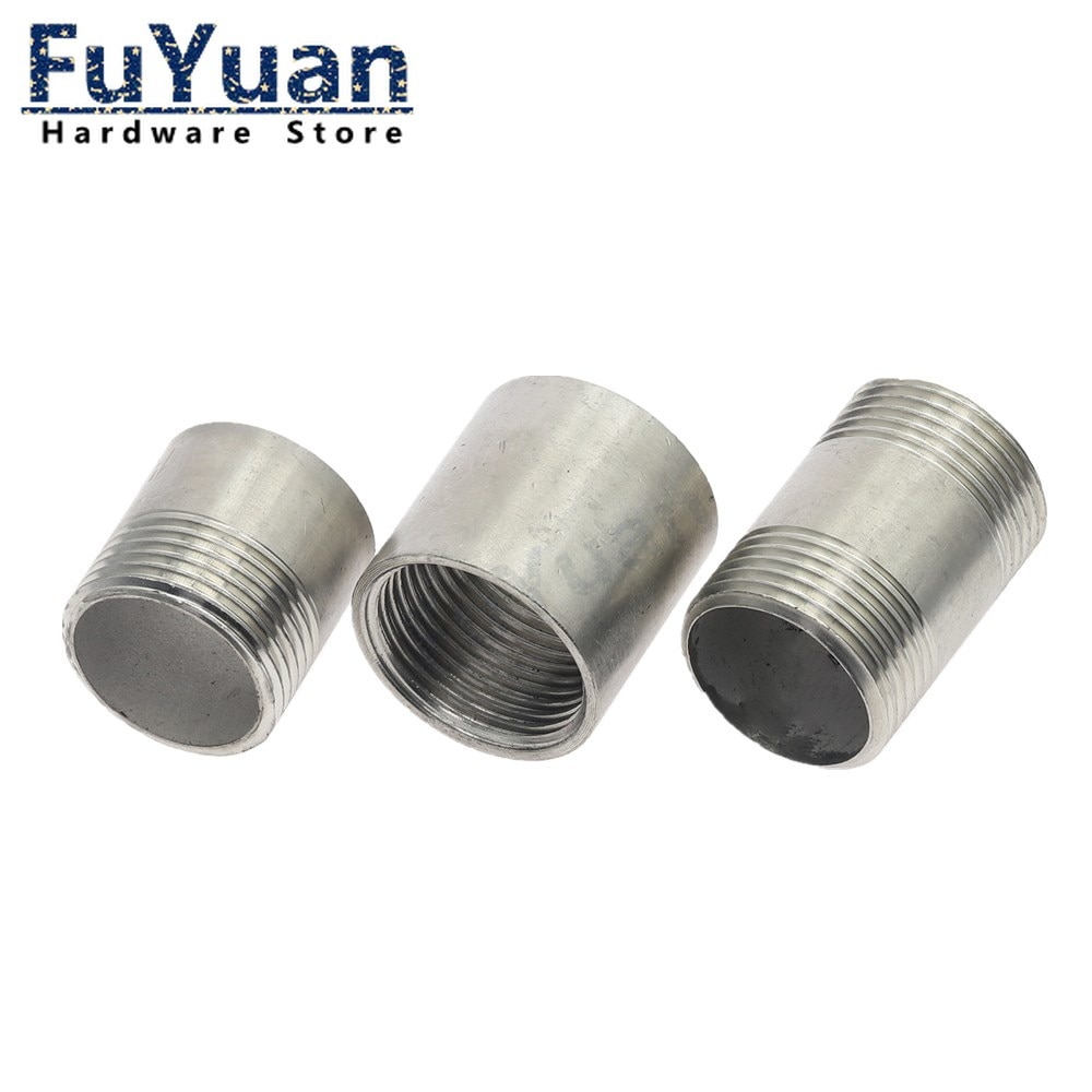 Фото - SS 304 Stainless Steel Water Pipe Fitting 1/8 1/4 3/8 1/2 3/4 1 1-1/4 1-1/2 Male Female Threaded Straight Pipe Fitting water connection adpater 1 8 1 4 3 8 1 2 3 4 1 1 1 4 1 1 2 female threaded pipe fittings stainless steel ss304