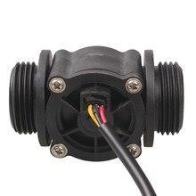 FS400A pas cher BSPP 1 pouce grand capteur de débit deau Hall 1-60lpm