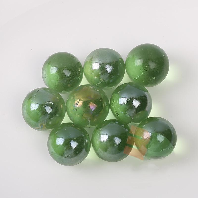 Bolas de vidro de 25mm, vaso de brinquedo de aquário para crianças, 50 peças