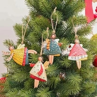 bright color creative delicate craft christmas pendant for household