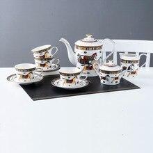 Tasse à café porcelaine os de cheval   Porcelaine, tasses à café, plat tasses café lait sucre Pot en option