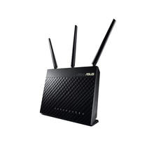 ASUS RT-AC68U maison entière double bande AiMesh pour système de maille, routeur Wi-Fi pour la maison, AC1900 1900Mbps AiProtection sécurité du réseau