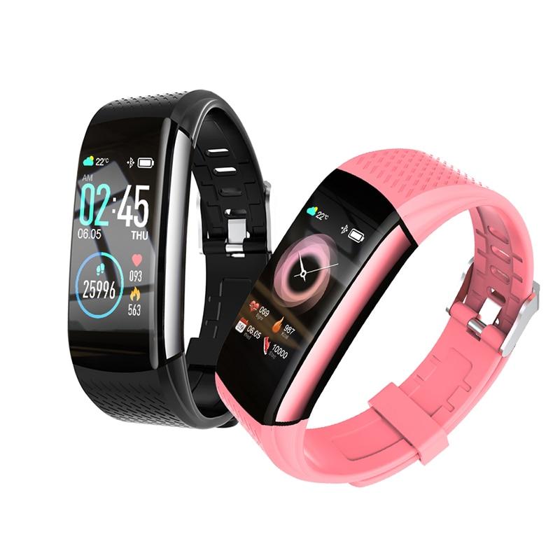 C8 Smart Bracelet Men Women Smart Watch Heart Rate Monitor Activity & Fitness Tracker IP67 Waterproo