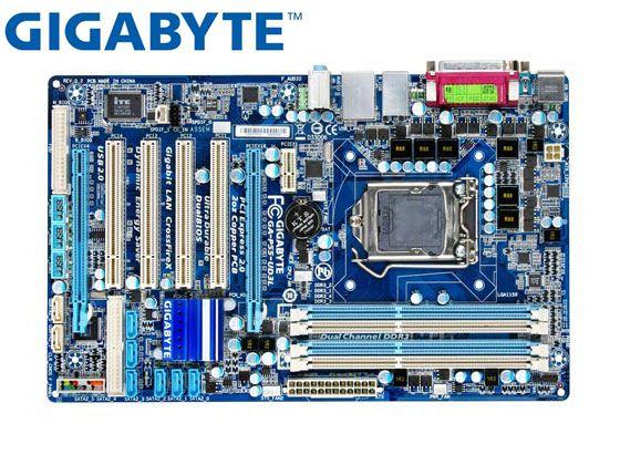 Оригинальная Материнская плата Gigabyte GA-P55-UD3L DDR3 LGA1156, материнская плата P55 для настольного ПК, материнская плата для P55-UD3L