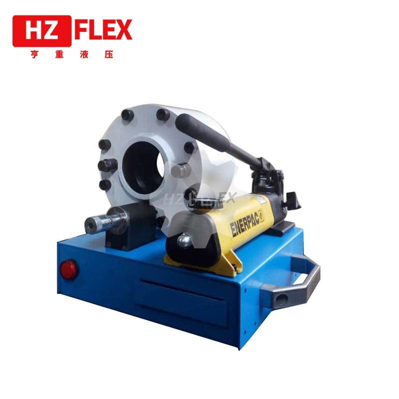 2019 HZFLEX HZ-30G الصانع المهنية! خرطوم هيدروليكي مطاطي العقص آلة ، الهيدروليكية خرطوم قفل آلة