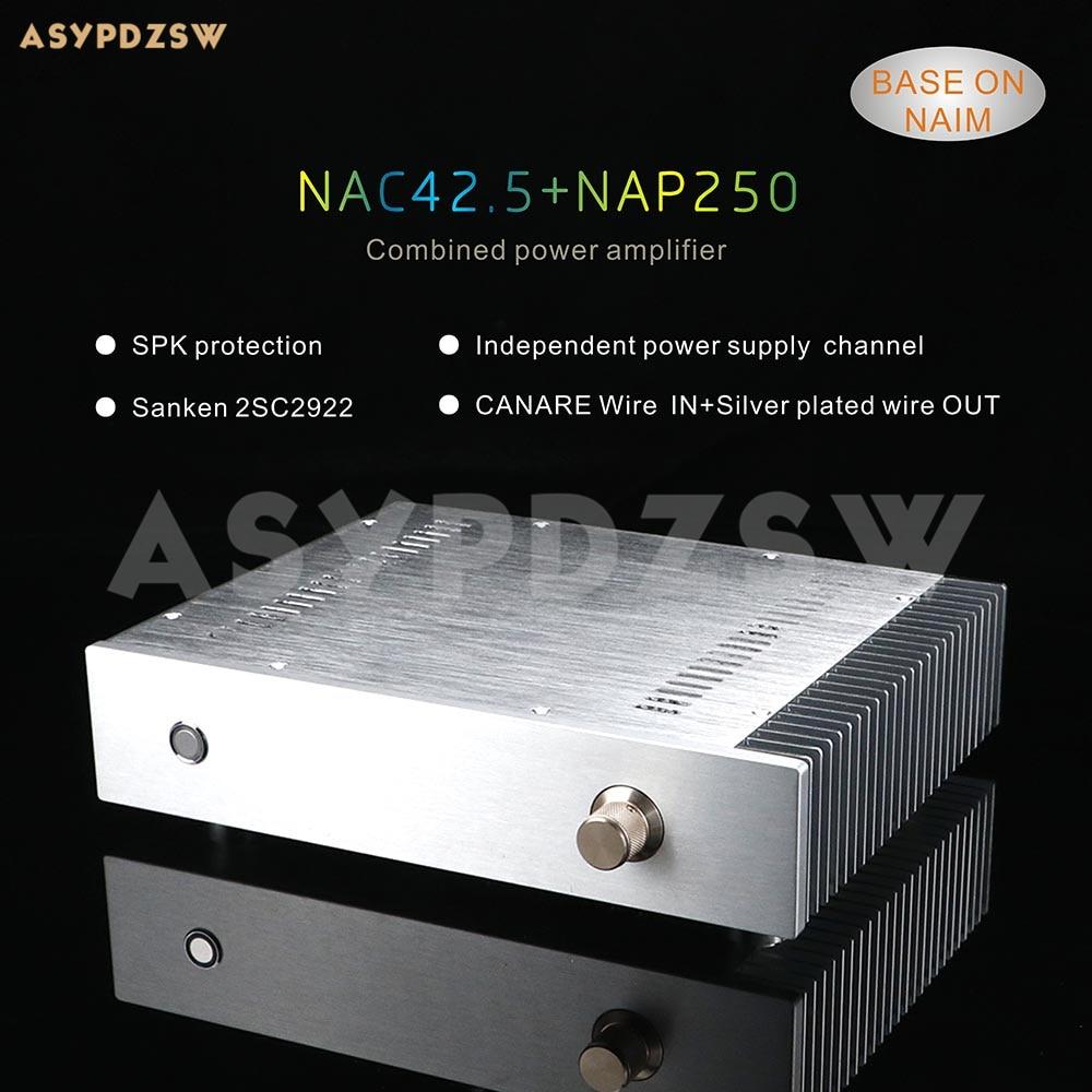 NAC42.5 + NAP250 Kombine güç amplifikatörü Tabanı NAIM devre SPK koruma