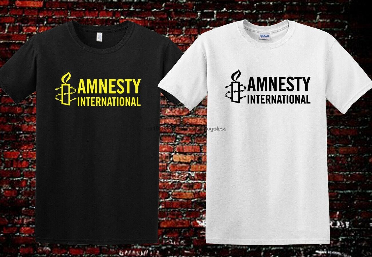 Amnistia internacional direitos humanos unissex t camisa de manga curta t