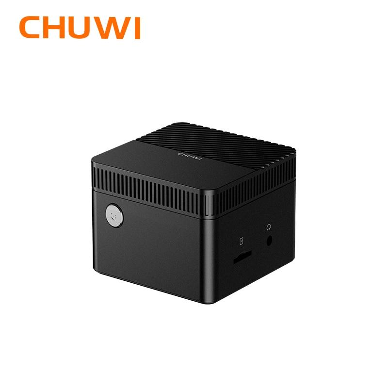 CHUWI LarkBox العالم أصغر البسيطة PC ويندوز 10 نظام 4K إنتل سيليرون J4115 معالج رباعية النواة 6GB RAM 128G EMMC
